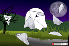 Toddler Puzzles Halloween Ghosts iPhone App