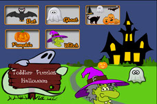 Toddler Puzzles Halloween App for iPhone