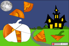 Toddler Puzzles iPhone App Pumpkin for Kids